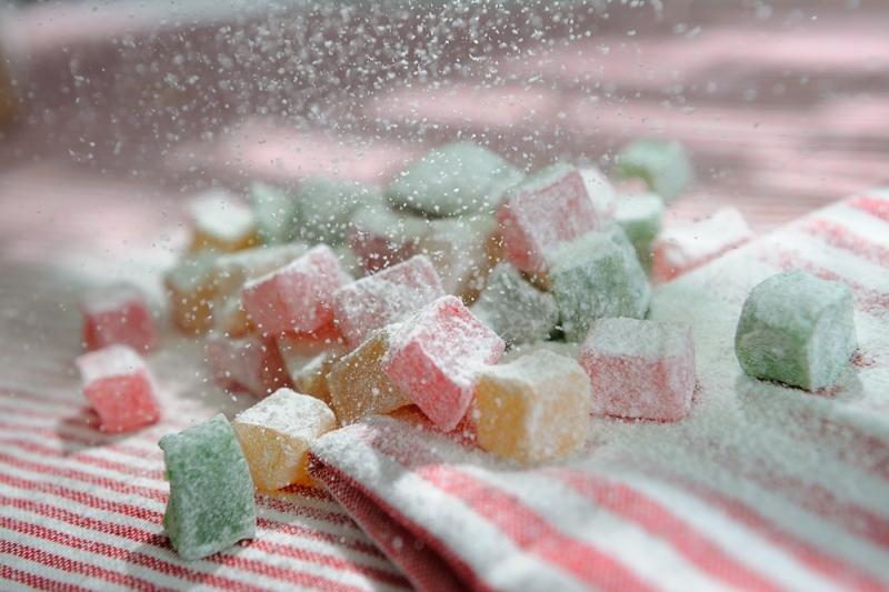"""Лукум """"Ассорти"""" в сахарной пудре"""