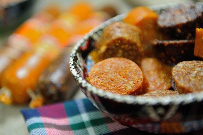 Десерт фруктово-ореховый Dolce с курагой, инжиром, черносливом, изюмом, дыней
