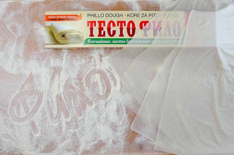 Тесто Фило